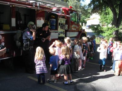 St. David's Fire Prevention 2012