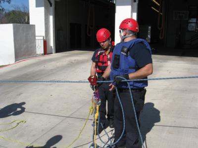 Rope Rescue Training